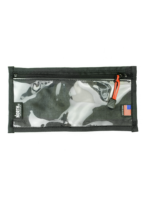 Medium Velcro-In Vinyl Pocket - North St. Bags