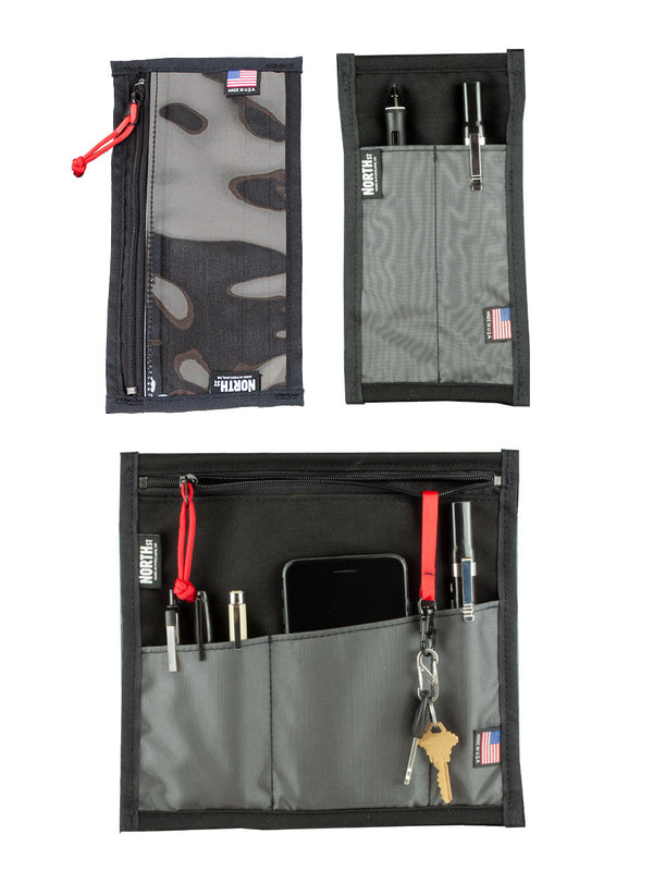 Velcro-In Organizer Pocket Set - North St. Bags