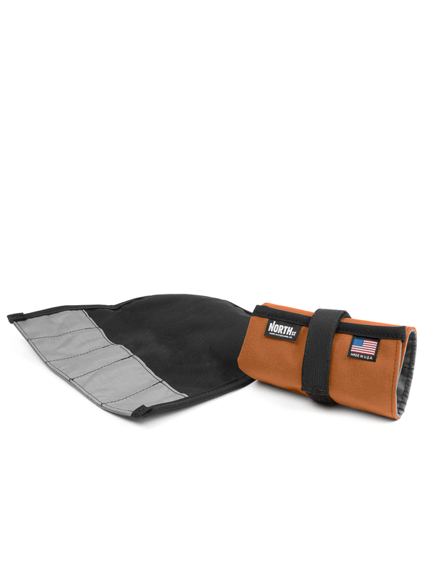North St. Tool Roll - Copper Cordura - North St. Bags