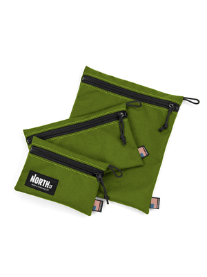 Pittock Travel Pouches - Olive