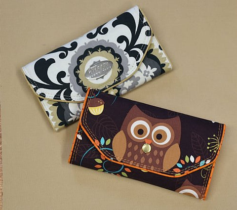 SLIM TRI-FOLD WALLET ***FABRIC VERSION***