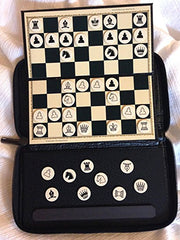 Chess portable magnetic chesset
