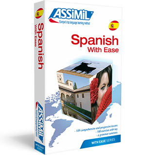 Spanish With Ease Book and 4 CD's