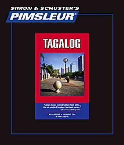 Tagalog Pimsleur Course Used Like New Free Shipping