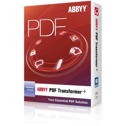 Abbyy USA PDF Transformer Plus for PC
