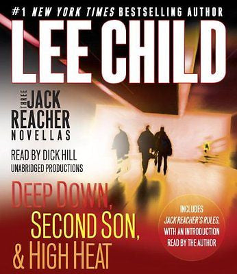 Three Jack Reacher Novellas with bonus Jack Reacher's Rules - Audio CD