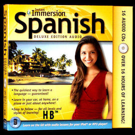 Instant Immersion Learn to Speak Spanish Language 17 CD  Beginner to Advanced + Transcripts