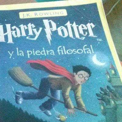 Harry Potter y la piedra filosofal 1 (Harry Potter and the Sorcerers Stone, Spanish)