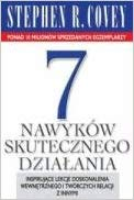 The 7 Habits of Highly Effective People Book in Polish