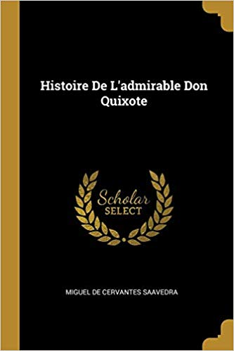 Don Quixote Book in French