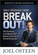 Joel Osteen - Daily Readings From Break Out (2014) - Audio Book -CD- New