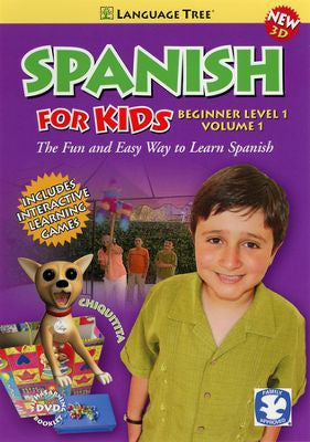 Spanish for Kids Beginner Volume 1