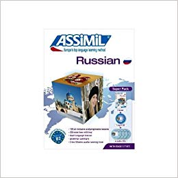 Learn Russian Assimil Course Book and CD's