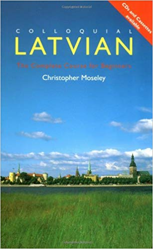 Colloquial Latvian Book