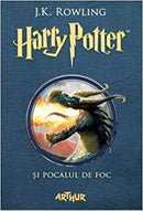 Harry Potter and The Goblet of Fire Book 4 in Romanian