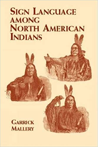 Sign Language Among North American Indians Book