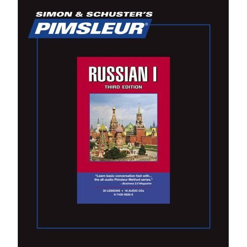 Russian Pimsleur Levels 1,2,3