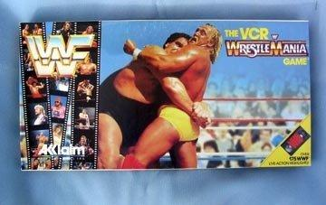 The VCR WrestleMania WWF Board Game
