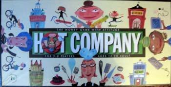 Hot Company The Board Game with Attitude