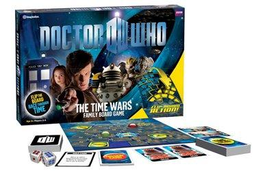 Doctor Who Board Game The Time Wars