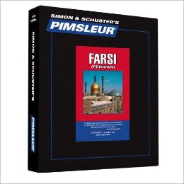 Farsi Persian Pimsleur Used 16 cd's