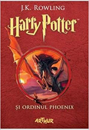 Harry Potter and The Order of the Phoenix Book 5 in Romanian