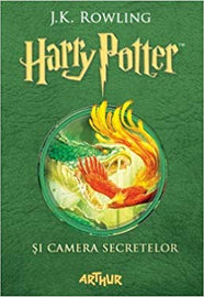 Harry Potter and The Chamber of Secrets Book 2 in Romanian