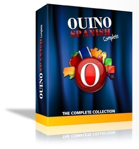 Ouino Spanish: The 5 in 1 Complete Collection (works for PC, Mac, iPad, Android, Chromebook)