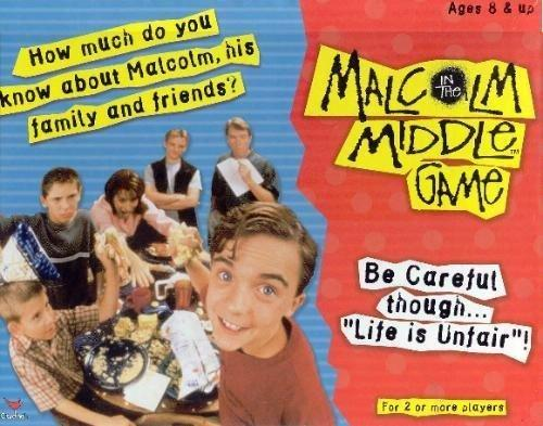 Malcolm in the Middle Board Game