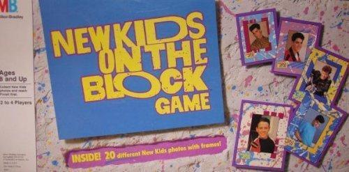 New Kids on the Block Board Game Used