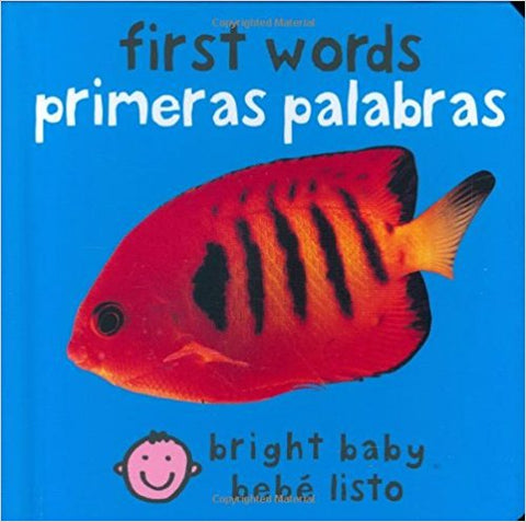 First Words Bilingual Book Spanish and English