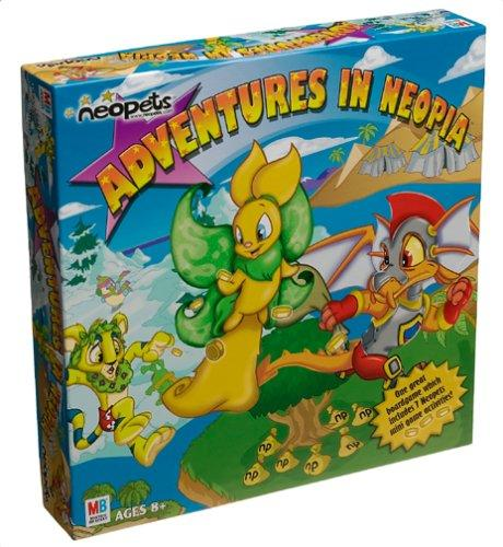 The Neopets Board Game Adventures in Neopia