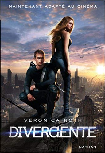 Divergent Book in French Paperback New