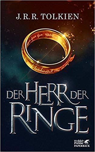 The Lord of The Rings in German The Fellowship of the Rings Paperback