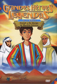 José y su Abrigo, Grandes Héroes y Leyendas de la Biblia (Joseph, Great Heroes and Legends of the Bible), DVD