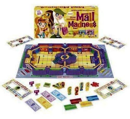Mall Madness 2004 Talking Board Game