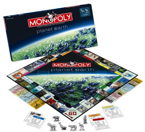 Planet Earth Monopoly Board Game