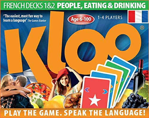 Learn to Speak French Language Card Games