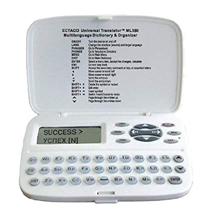 Multilanguage Universal ECTACO Translator