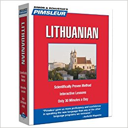 Pimsleur Lithuanian Level 1 Audio CD