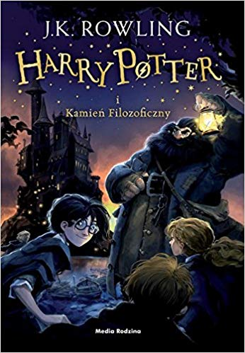 Harry Potter and the Philosopher's Stone Book 1 in Polish