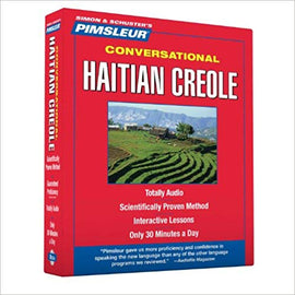 Pimsleur Haitian Creole Conversational Audio CD Course