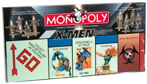 X-Men Monopoly Board Game