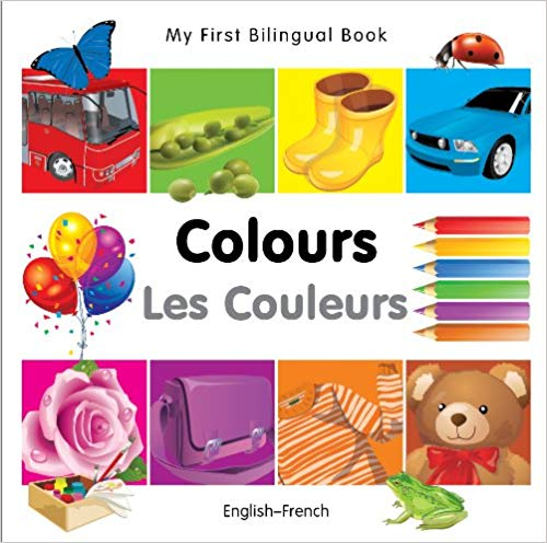 My First Bilingual French Book Learn Colors