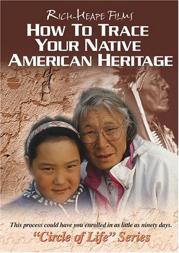 How To Trace Your Native American Heritage DVD