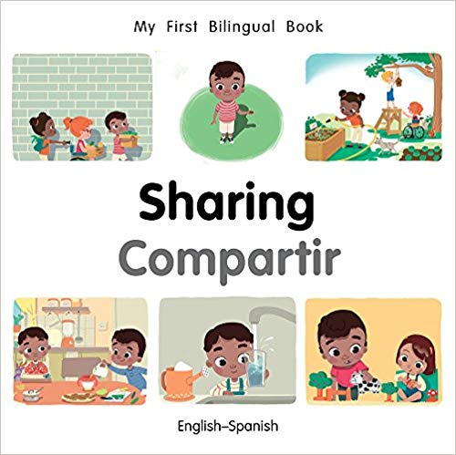 My First Bilingual Spanish Book on Sharing
