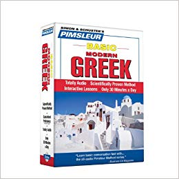 Pimsleur Greek Basic Course Audio CD's