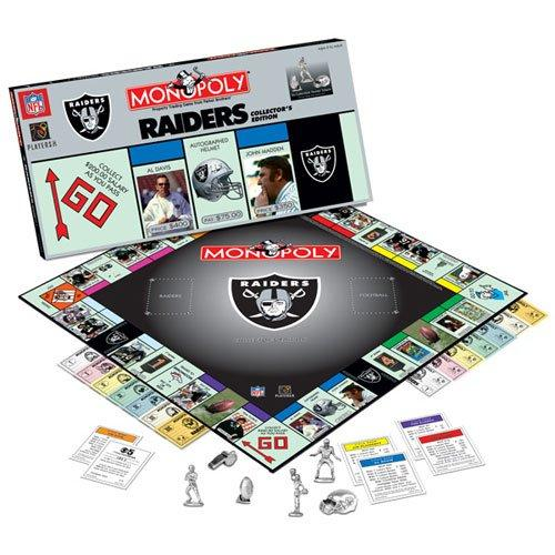 Raiders Monopoly Board Game