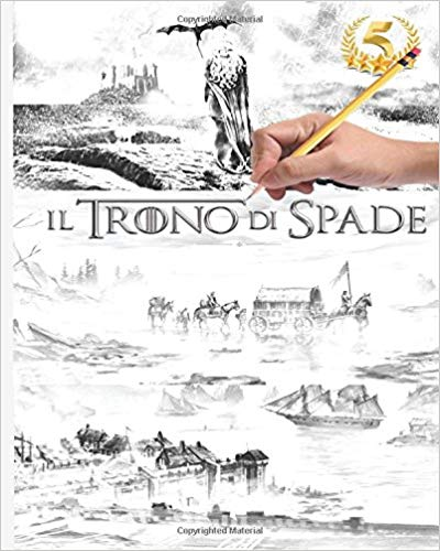 Game of Thrones Coloring Book Italian Edition