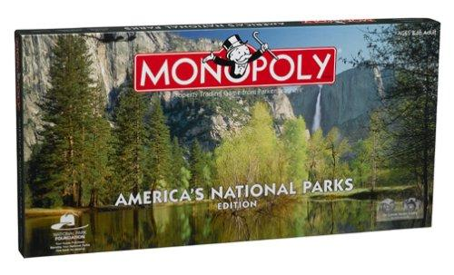 Monopoly America's National Parks Edition